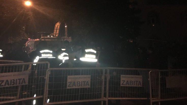 Kirazlıtepe'de yıkım gözaltısı
