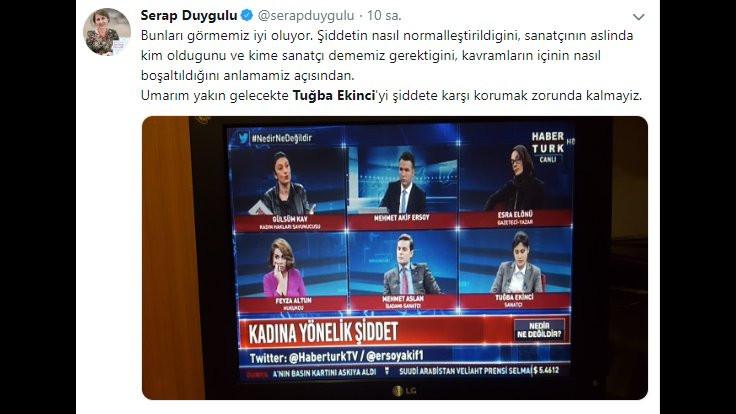 Habertürk'e Tuğba Ekinci tepkisi: Yöneticiler bilmiyor mu? - Sayfa 2