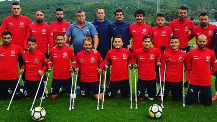 Ampute Futbol Milli Takımı, dünya ikincisi
