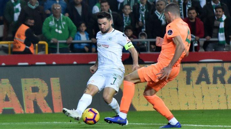 Atiker Konyaspor 2 golle kazandı