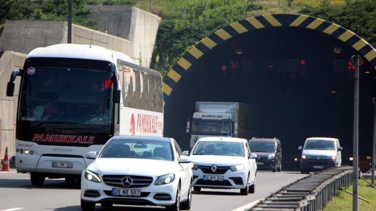 Bolu Tüneli'nin Ankara yönü kapatılacak