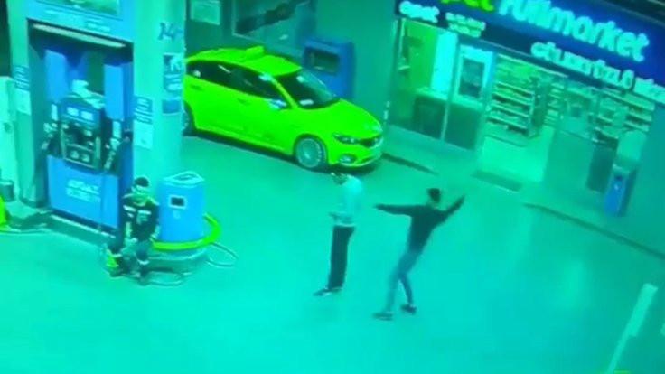 Cinayet güvenlik kamerasında!
