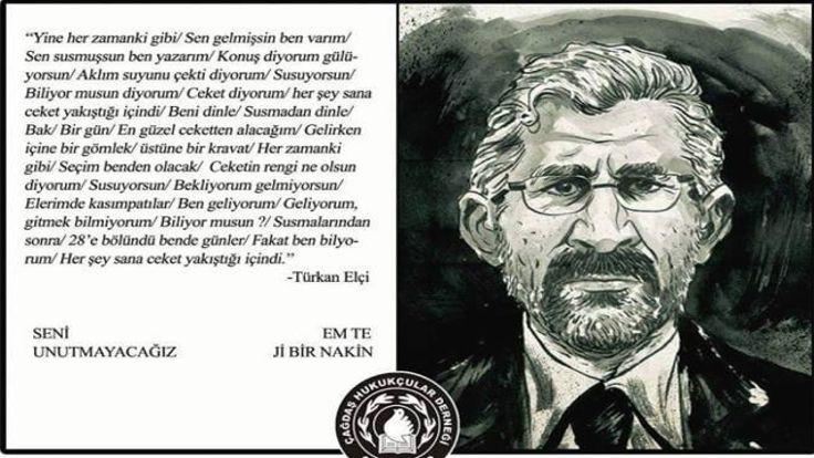 Antalya Barosu, Tahir Elçi afişini indirdi