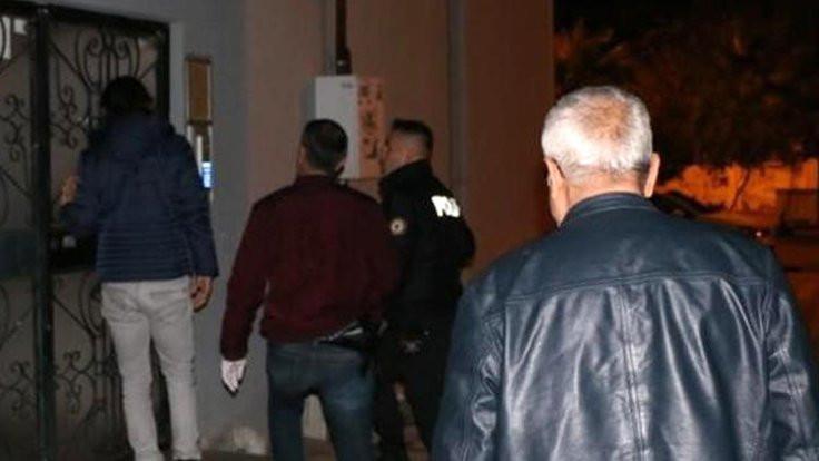 Muhtara, imama ve müdüre yağmadan gözaltı