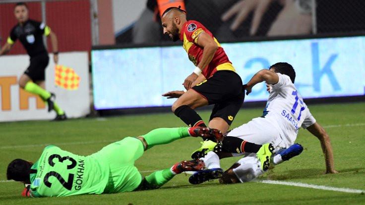 Göztepe, Çaykur Rizespor'u mağlup etti