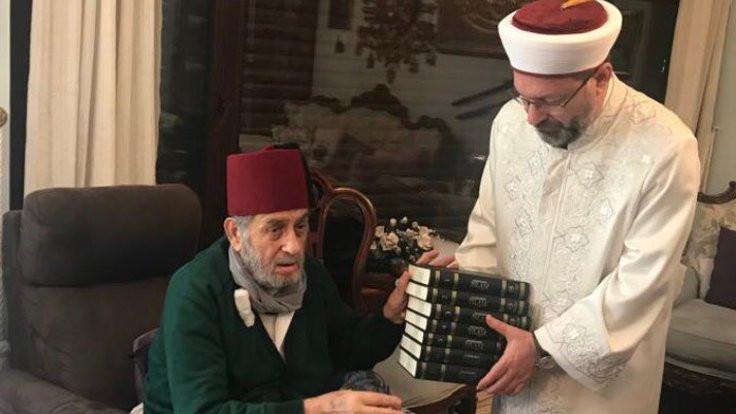 Diyanet İşleri Başkanı Erbaş'tan Kadir Mısıroğlu'na ziyaret