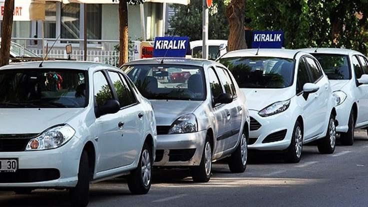 Bakanlıktan kiralık araçlara 47 milyon lira