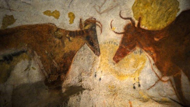 Mağara resimleri 'harita' çıktı!