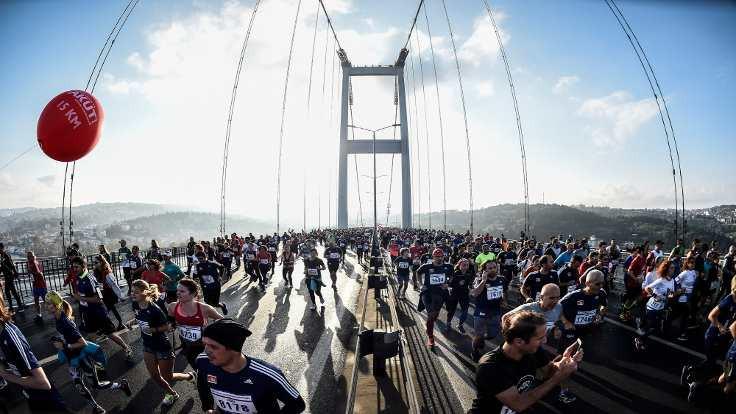 İstanbul Maratonu'nu Kenyalı atletler kazandı