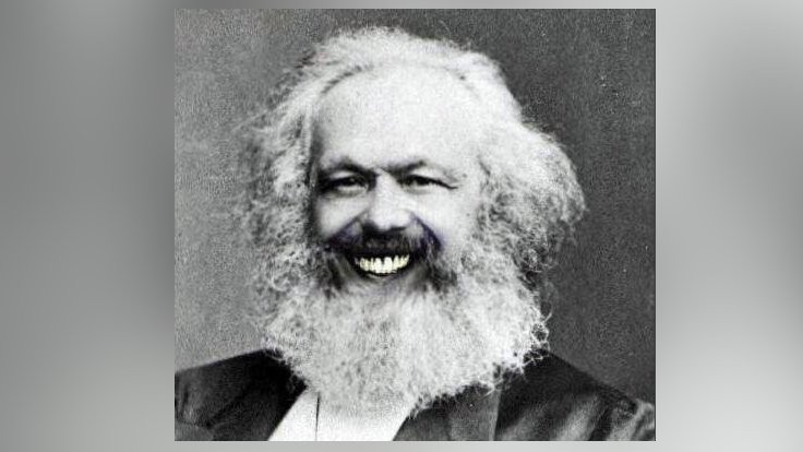 'Reklamda... İşletmede... İlahiyatta: Marx!'