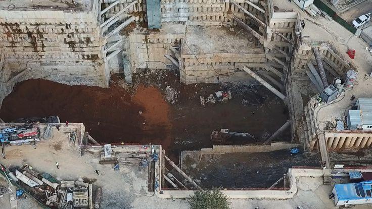 'Metro inşaatında dinamit patlatıldı' iddiası