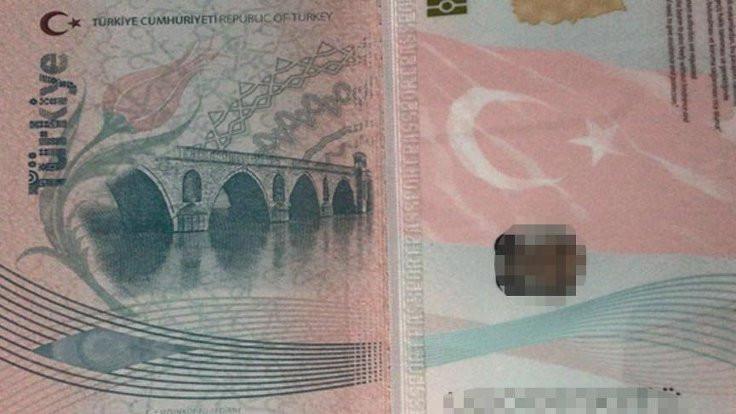 Devlet pasaporttaki köprüyü karıştırmış!
