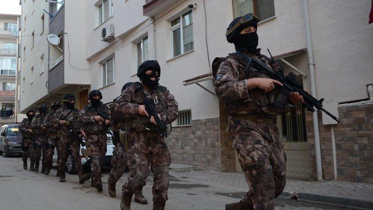 Hatay'da 17 kişiye gözaltı