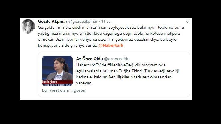 Habertürk'e Tuğba Ekinci tepkisi: Yöneticiler bilmiyor mu? - Sayfa 4