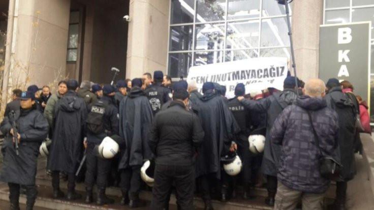Ankara'da Elçi'yi anmaya izin verilmedi!