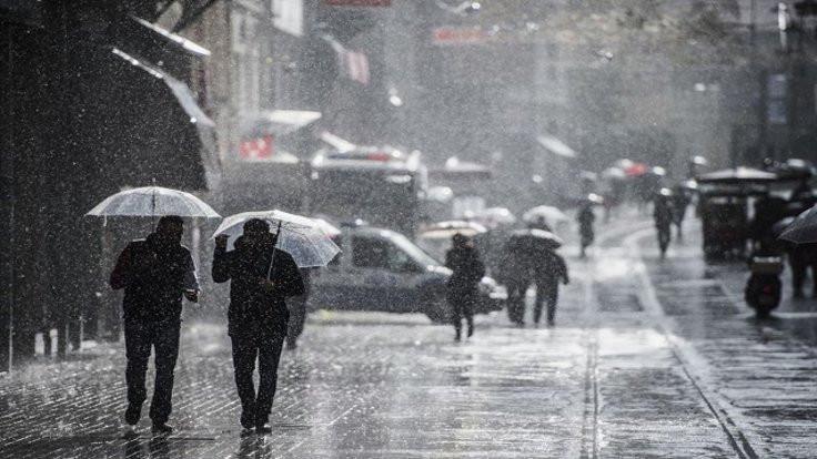İstanbul için sağanak uyarısı