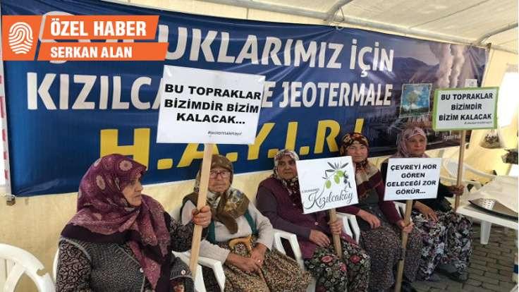 'Kızılcaköy'de geri adım atıldı, nöbet sürüyor'