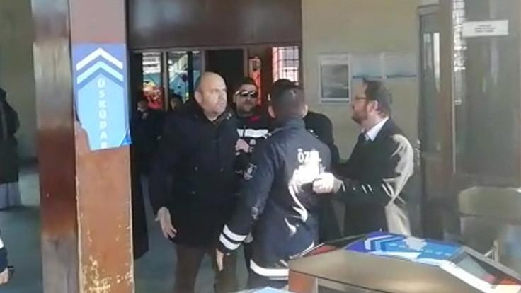 Eminönü'nde 'arama' tartışması
