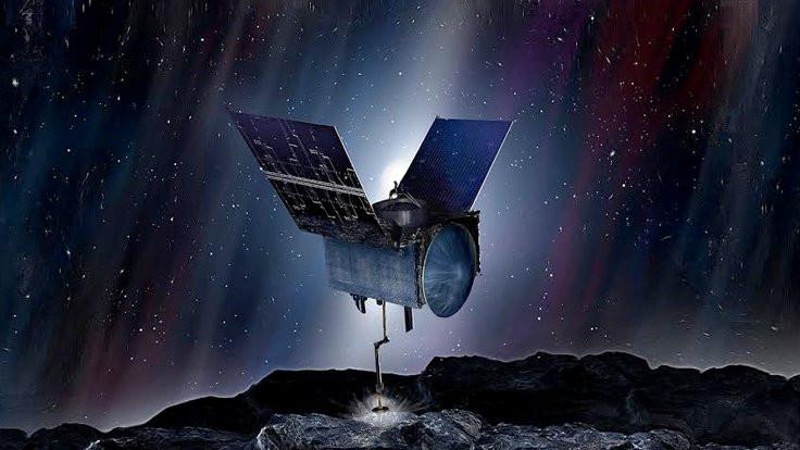 NASA 'Bennu'da su buldu!