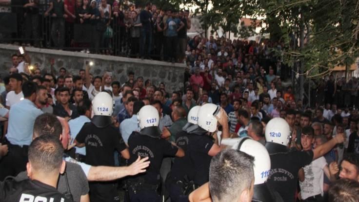 Gaziantep'te Suriyelilere saldırı