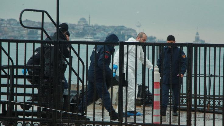 Ortaköy'de ceset bulundu