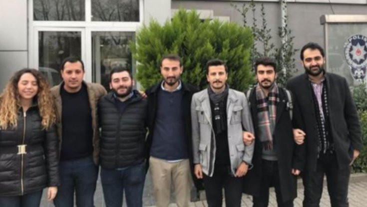 Kadıköy'de CHP'lilere gözaltı