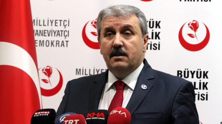 'Kimse Gezi tarzı eylem düşünmesin'