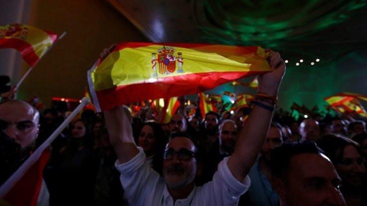 İspanya'da 36 yıl sonra faşistler Meclis'e girdi