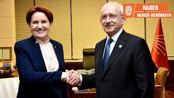 CHP-İYİ Parti 11'e 10 anlaşma sağladı