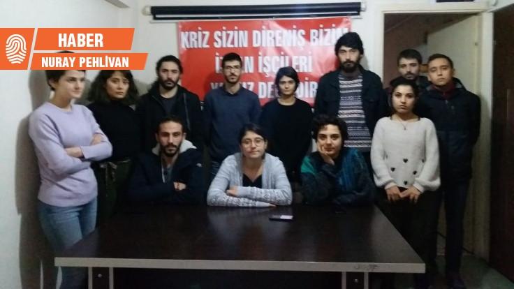 Gençlerin, İZBAN işçileriyle dayanışma ziyaretine polis engeli