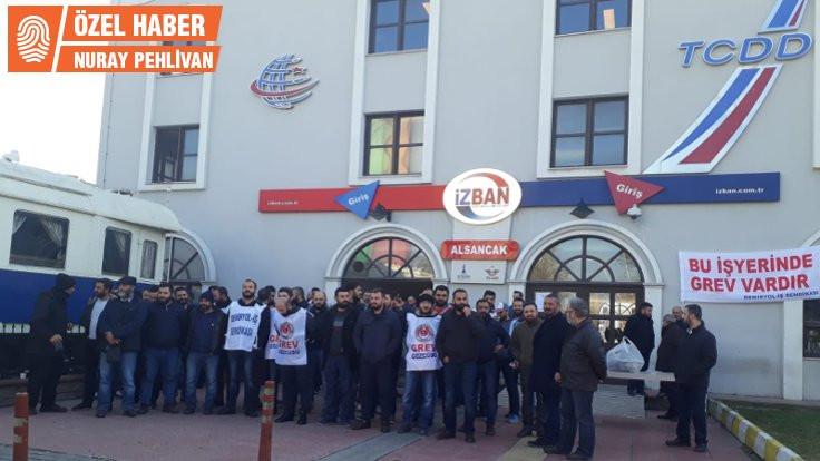 İZBAN'da 'greve devam' kararı