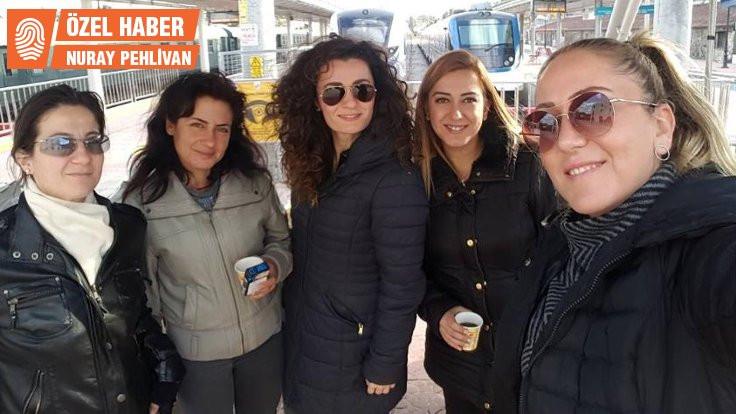 İZBAN'ın makinist kadınları: Su içemeyiz çünkü tuvalete gidemeyiz