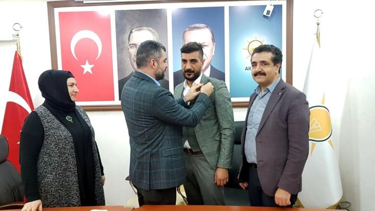 Saadet Partili başkan AK Parti'ye katıldı