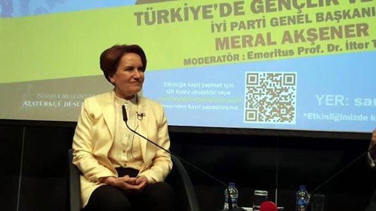 Akşener'den Ankara'da ortak aday açıklaması