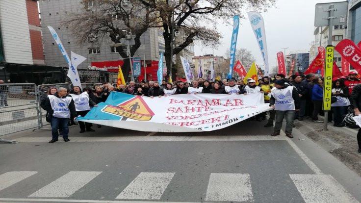 İstanbul'da miting: Faturayı ödemeyeceğiz