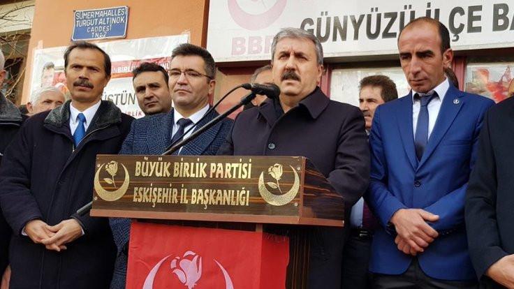 Destici: Sarı yeleklilerin saflarında PKK unsurları var