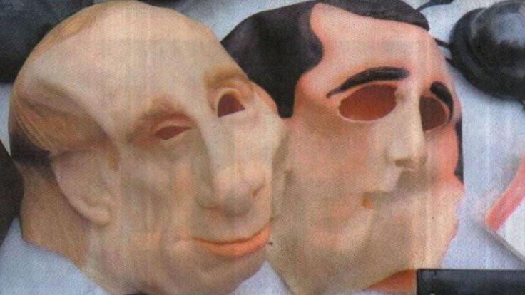 İki Türk'e Putin maskeli gasp!