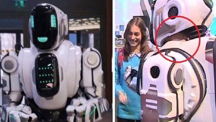 'Harika robot' insan çıktı!