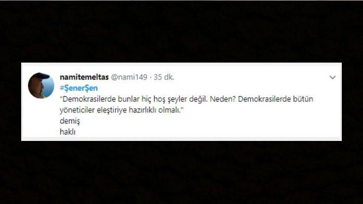 Twitter'da Şener Şen tartışması: Destek de var tepki de! - Sayfa 4