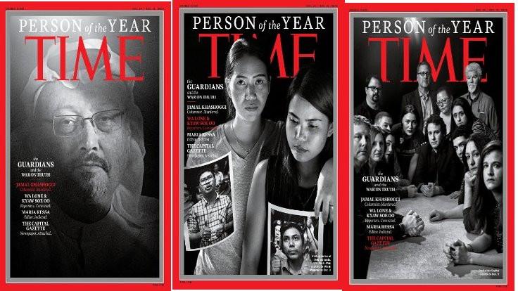 Time dergisi Kaşıkçı'yı 'Yılın Kişisi' seçti