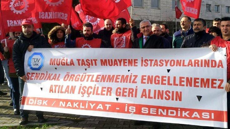 İşten çıkarılan TÜVTÜRK işçilerinin davasına başlandı