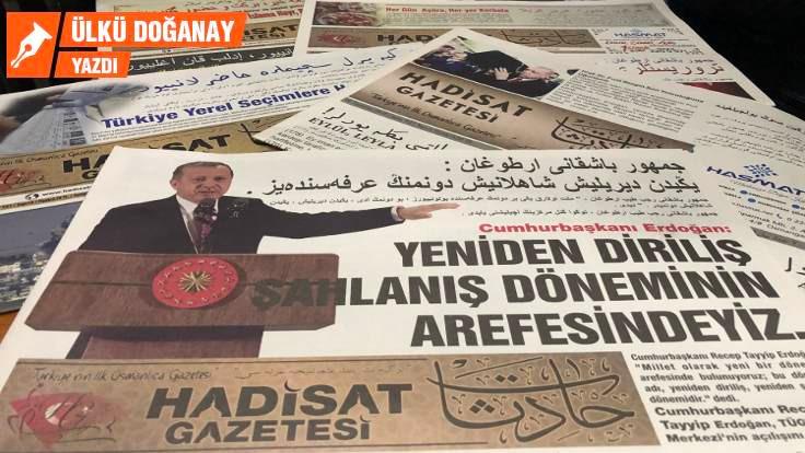 Yeni bir çılgın proje: Osmanlıca gazete