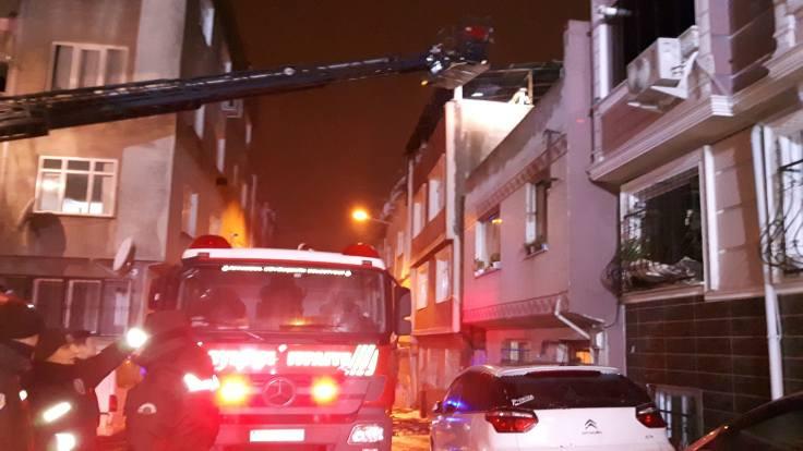 Binada yangın: 7 yaralı
