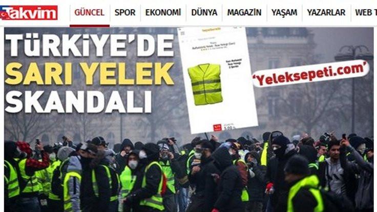 Yeleksepeti.com haberine açıklama