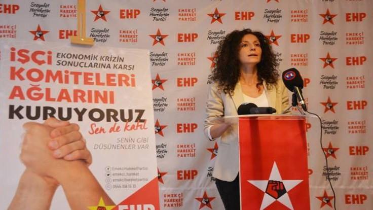 EHP İstanbul Büyükşehir Belediyesi Başkanlığı için bağımsız aday Özge Akman'ı destekleyeceklerini açıkladı