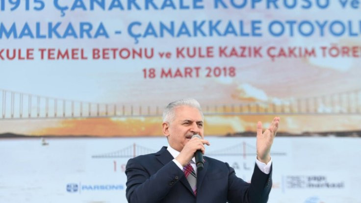 'Çanakkale Köprüsü 1 yıl erken açılacak'
