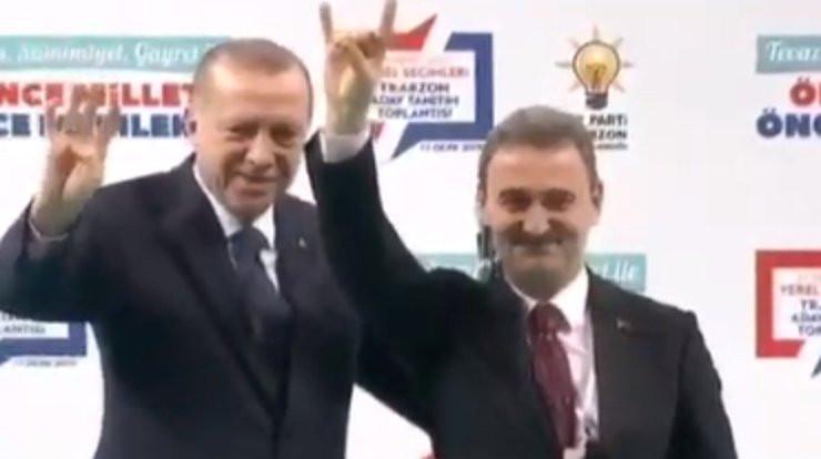Erdoğan'dan izinli bozkurt!