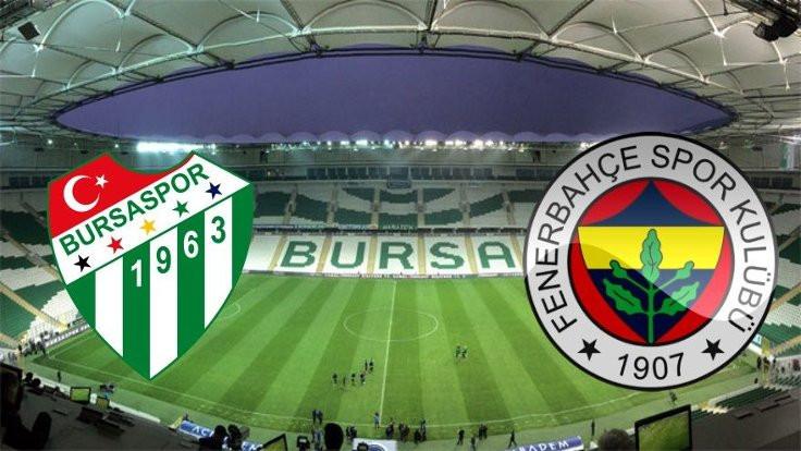 Bursaspor-Fenerbahçe maçında alkol kontrolü!