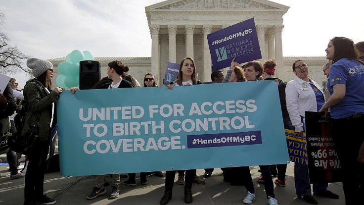 Trump'ın doğum kontrol yasasına veto