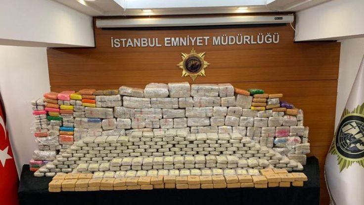 850 kilo eroin yakalandı